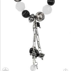 5 for $25 Paparazzi Jewelry Black Bracelet